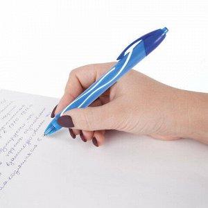 """Ручка гелевая автоматическая BIC """"Gelocity Quick Dry"""", СИНЯЯ, узел 0,7 мм, линия письма 0,35 мм, 950442"""