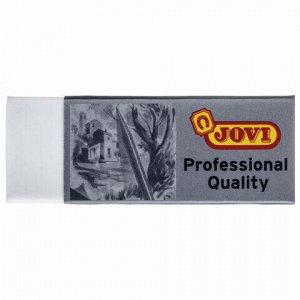 "Ластик большой JOVI (Испания) ""Professional"", 60х22х11 мм, белый, прямоугольный, 2020"
