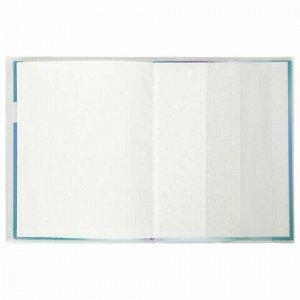 Обложка ПВХ 220х460 мм для дневников, учебников младших классов, рабочих тетрадей, ПИФАГОР, МАТОВАЯ, 150 мкм, штрих-код, 229329