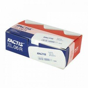 Ластик большой FACTIS XL (Испания), 68х39х19 мм, белый, прямоугольный, CNF06R