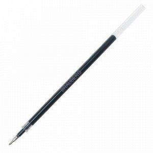 Стержень гелевый BRAUBERG 130 мм, ЧЕРНЫЙ, игольчатый узел 0,5 мм, линия письма 0,35 мм, 170170