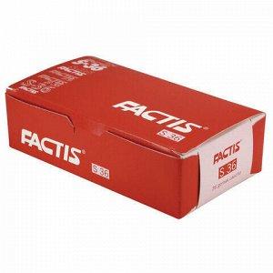 Ластик FACTIS S 36 (Испания), 40х24х14 мм, белый, прямоугольный, мягкий, CNFS36