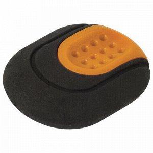 "Ластик BRAUBERG ""C-Grip"", 46х39х12,5 мм, черный, держатель ассорти, 228063"