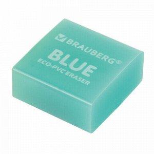 """Ластик BRAUBERG """"E-Color"""", 28х28х12 мм, цвет НЕОН ассорти, экологичный ПВХ, 228065"""