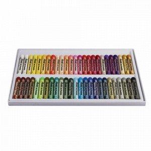 """Пастель масляная художественная PENTEL """"Oil Pastels"""", 50 цветов, круглое сечение, картонная упаковка, PHN4-50"""