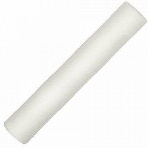 Мел белый мягкое письмо, набор 24 шт., круглый, BRAUBERG, 227439