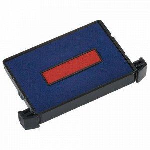 Подушка сменная 41х24 мм, сине-красная, для TRODAT 4755, арт. 6/4750/2