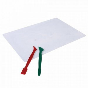 Доска для лепки А5, 205х150 мм, СТАММ, белая, 2 стека, НЛ21