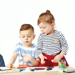 Восковые мелки утолщенные JOVI (Испания), 12 цветов, детские от 2 лет, картонная коробка, 980/12