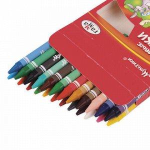 """Восковые мелки ГАММА """"Мультики"""", 24 цвета, 8х90 мм, круглые, 2131018_01_31"""