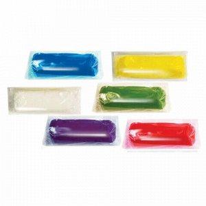 Пластилин на растительной основе (тесто для лепки) ЛУЧ, 6 цв, 420г, штампики 3 шт,ска, 28С 1679-08