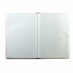 Книга учета 96 л., клетка, твердая, типографский блок, нумерация, А4 (200х290 мм), ОФИСМАГ, 130176