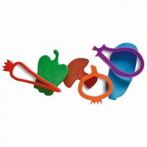 """Пластилин на растительной основе JOVI (Испания), набор, """"Огород"""", 5 цветов, 20 предметов, 476"""