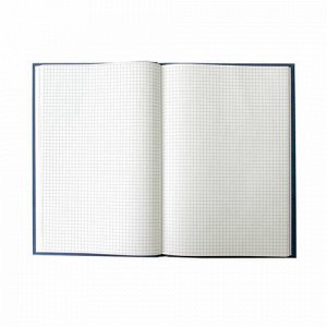 Книга учета 96 л., клетка, твердая, бумвинил, блок офсет, А4 (200х290 мм), ОФИСМАГ, 130177