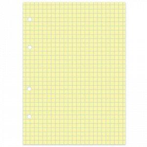 "Сменный блок к тетради на кольцах, А5, 80 л., BRAUBERG, ""Желтый"", 403257"
