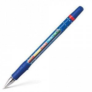 """Ручка шариковая STABILO """"Exam Grade"""", СИНЯЯ, корпус синий, узел 0,8 мм, линия письма 0,4 мм, 588/G-41"""