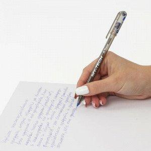 """Ручка шариковая масляная PENSAN """"My-Tech"""", СИНЯЯ, игольчатый узел 0,7 мм, линия письма 0,35 мм, 2240"""