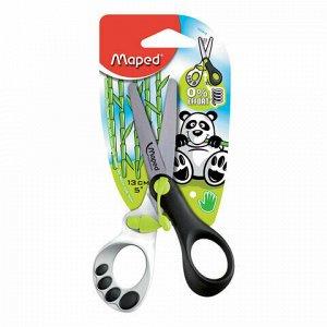 """Ножницы MAPED (Франция) """"Koopy"""", 130 мм, закругленные, детские, картонная упаковка с европодвесом, 037910"""