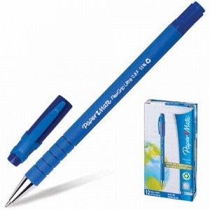 """Ручка шариковая PAPER MATE """"Flexgrip Ultra"""", СИНЯЯ, корпус soft-touch, узел 1,2 мм, линия письма 0,8 мм, S0190093"""