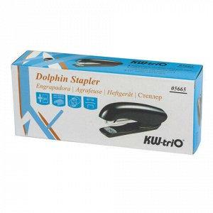 """Степлер №24/6, 26/6 KW-trio """"Dolphin Half-strip"""", до 20 листов, ассорти, 5665, -5665"""