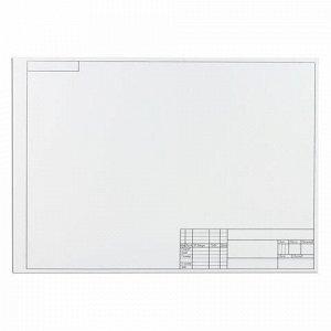 Папка для черчения БОЛЬШОГО ФОРМАТА (297х420 мм) А3, 10 л., 160 г/м2, рамка с горизонтальным штампом, ПИФАГОР, 129228