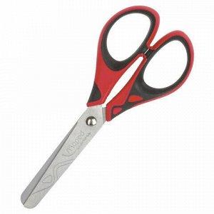 """Ножницы MAPED (Франция) """"Start Soft"""", 130 мм, прорезиненные ручки, ассорти, европодвес, 464410"""
