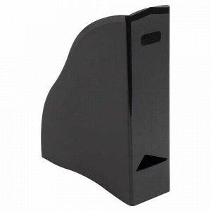 """Лоток вертикальный для бумаг BRAUBERG """"Cosmo"""" (260х85х315 мм), черный, 237006"""