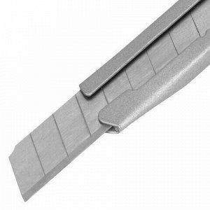 "Нож канцелярский 9 мм BRAUBERG ""Extra 60"" металлический, подвес, 237085"