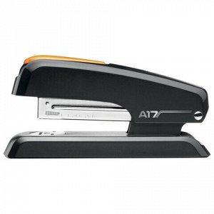 """Степлер №24/6, 26/6 MAPED (Франция) """"Essentials Desk"""", до 25 листов, черно-оранжевый, 953511"""