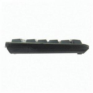 Клавиатура проводная с хабом USB, SVEN Standard 304, USB, 104 клавиши, черная, SV-03100304UB
