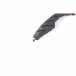 Циркуль ПИФАГОР пластиковый с карандашом, 120 мм, чехол, 210652