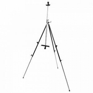 Мольберт полевой металлический BRAUBERG ART CLASSIC, тренога, переносной, разлож.92х203х92см, 191282