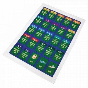 """Игра настольная """"Миллионер Elite"""", игровое поле, банкноты, жетоны, акции, полисы, ORIGAMI, 00111"""