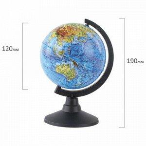 """Глобус физический GLOBEN """"Классик"""", диаметр 120 мм, К011200001"""