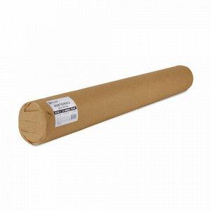 Крафт-бумага в рулоне, 420 мм x 20 м, плотность 78 г/м2, Марка А (Коммунар), BRAUBERG, 440144