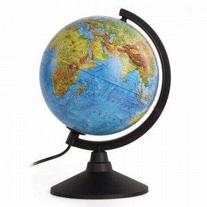 """Глобус физический/политический GLOBEN """"Классик"""", диаметр 210 мм, с подсветкой, К012100089"""