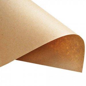 Крафт-бумага в рулоне, 840 мм x 40 м, плотность 78 г/м2, Марка А (Коммунар), BRAUBERG, 440146