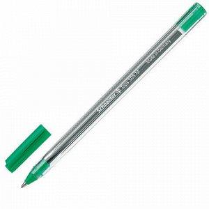 """Ручка шариковая SCHNEIDER (Германия) """"Tops 505 M"""", ЗЕЛЕНАЯ, корпус прозрачный, узел 1 мм, линия письма 0,5 мм, 150604"""
