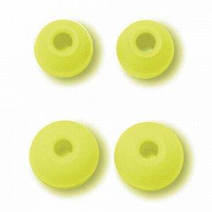 Наушники с микрофоном (гарнитура) вкладыши SVEN SEB-190M, провод 1,2 м, черные с зеленым, SV-013080