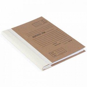 Папка архивная для переплета А4 (310х215 мм), 40 мм, без клапанов, переплетный картон/коленкор