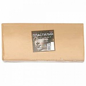 """Пластилин скульптурный ГАММА """"Студия"""", телесный, 1 кг, твердый, 280Е100001"""