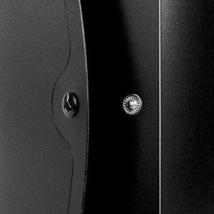 "Короб архивный (330х245 мм), 100 мм, пластик, разборный, до 900 листов, черный, 0,9 мм, BRAUBERG ""Energy"", 236854"