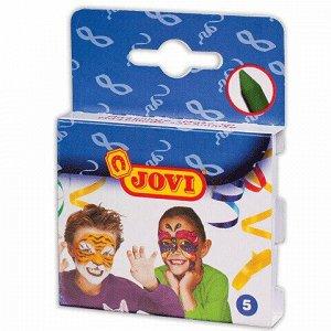 Грим для лица JOVI (Испания), 5 цветов, пигментированный воск, картонная упаковка, 175
