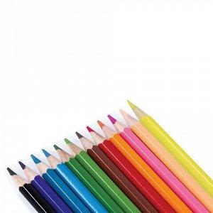 """Карандаши цветные KOH-I-NOOR """"Крот"""", 12 цветов, грифель 3,2 мм, заточенные, европодвес, 3652012026KSRV"""