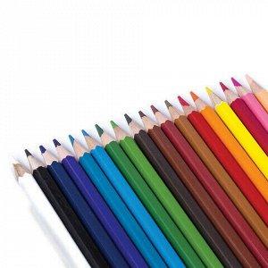 """Карандаши цветные KOH-I-NOOR """"Крот"""", 18 цветов, грифель 3,2 мм, заточенные, европодвес, 3653018026KSRV"""