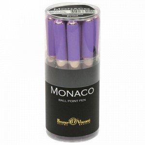 Ручка шариковая BRUNO VISCONTI Monaco, лавандовый корпус, узел 0,5 мм, линия 0,3 мм, синяя, 20-0125/16