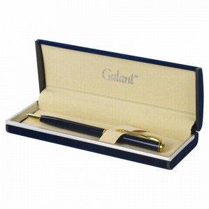 """Ручка подарочная шариковая GALANT """"Arrow Gold Blue"""", корпус темно-синий, золотистые детали, пишущий узел 0,7 мм, синяя, 140653"""