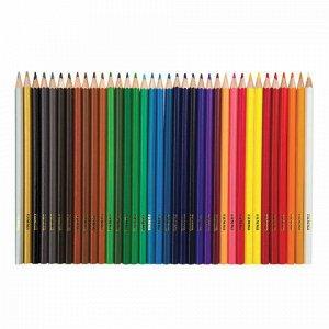 """Карандаши цветные ГАММА """"Классические"""", 36 цветов, заточенные, шестигранные, картонная упаковка, 05091805, 050918_05"""