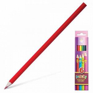 """Карандаши цветные KOH-I-NOOR """"Centi"""", 6 цветов, грифель 2,65 мм, заточенные, европодвес, 2141006002KS"""