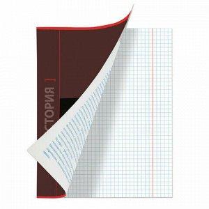 Тетрадь предметная NAVIGATOR 48 листов, выборочный лак, ИСТОРИЯ, клетка, подсказ, BRAUBERG, 403543